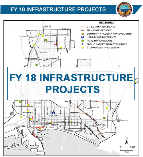 FY 18 Infrastructure Projects