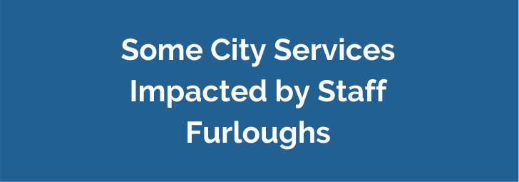 City Home Page - Furlough closures