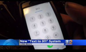 text to 911 screen grab with 911 on phone