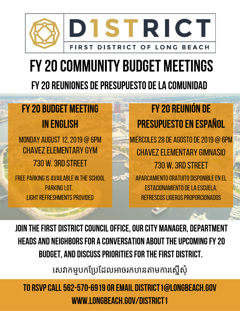 FY 20 Community Budget Meetings (2)