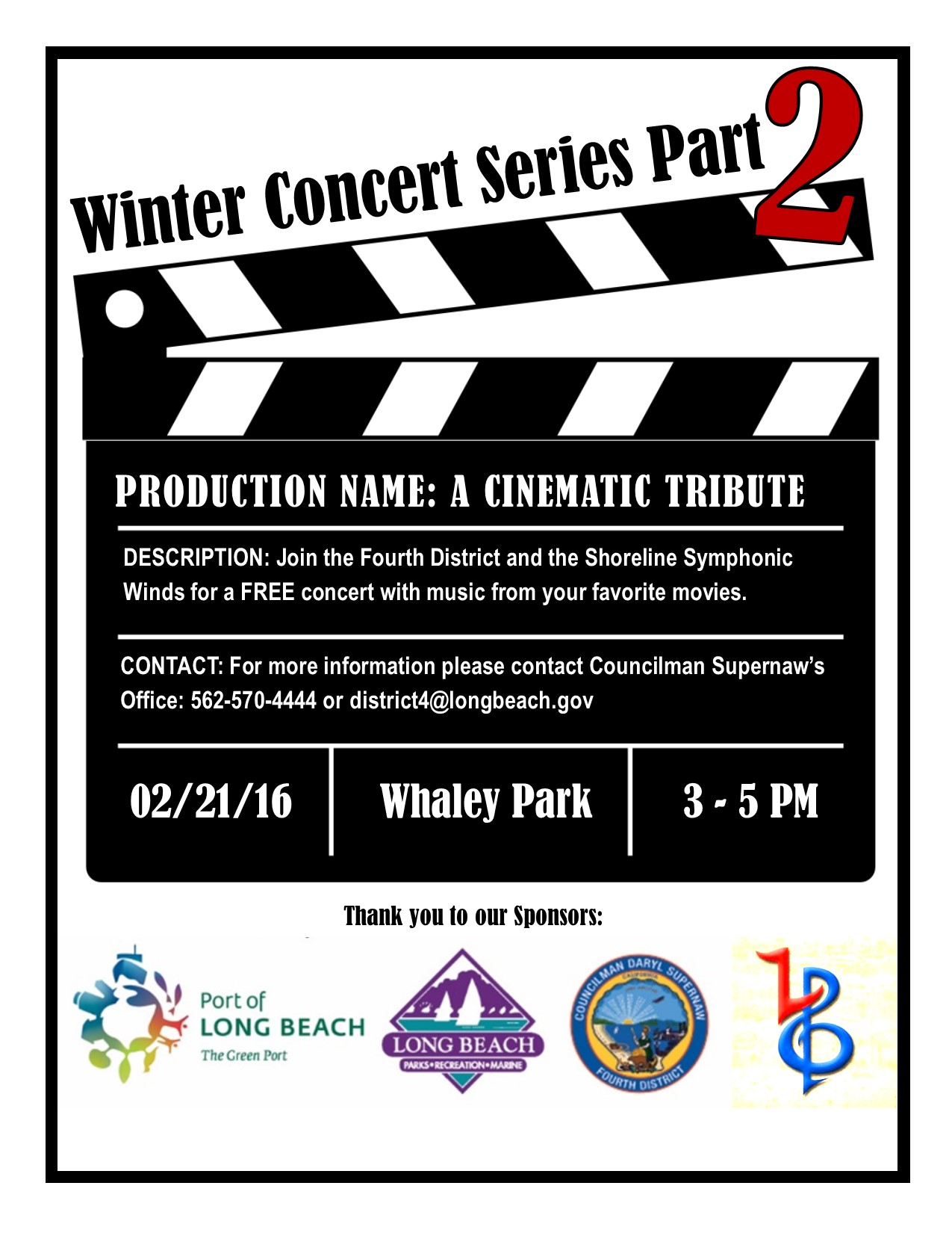 Winter Concert Series: Part Two