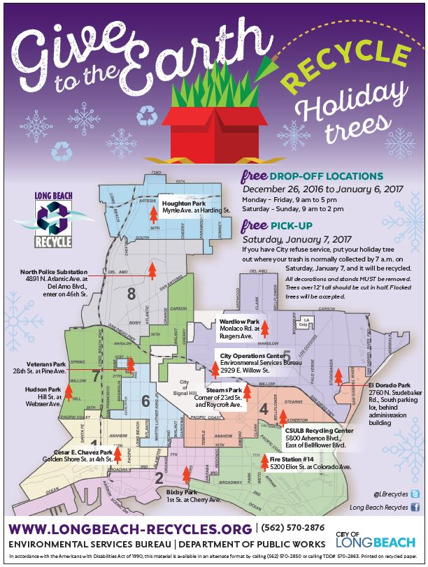 Recycle Holiday Tree Flyer
