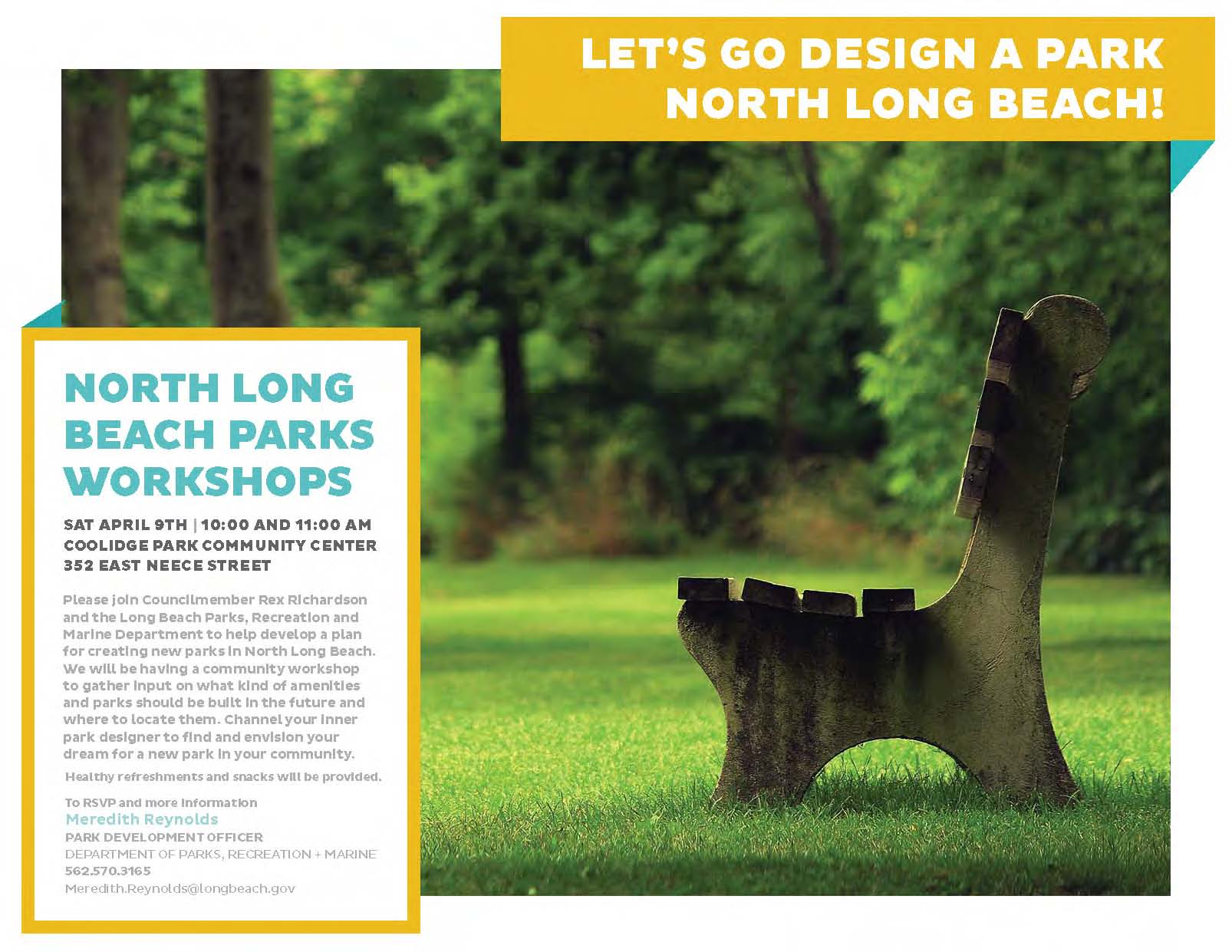 North Long Beach Parks Workshop