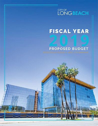 FY 19 Proposed Budget Cover