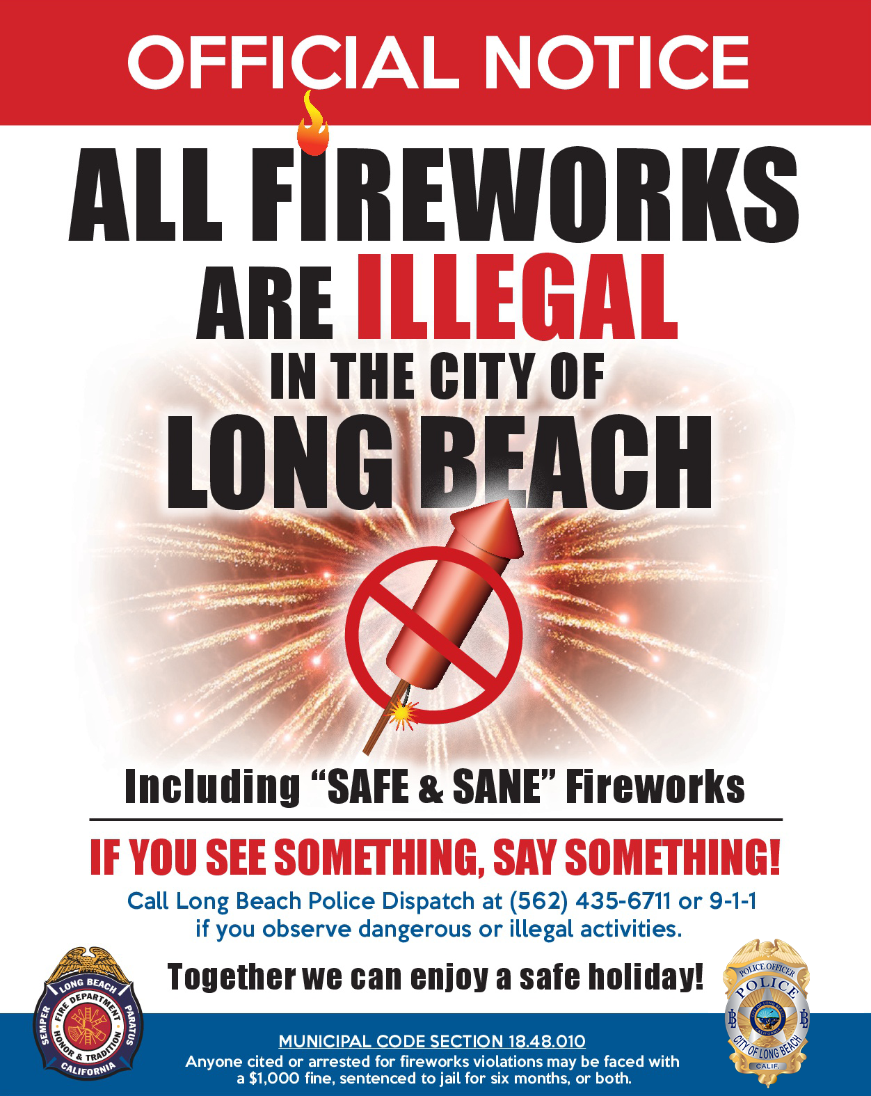 LBFD Illegal Fireworks (New PD-English)