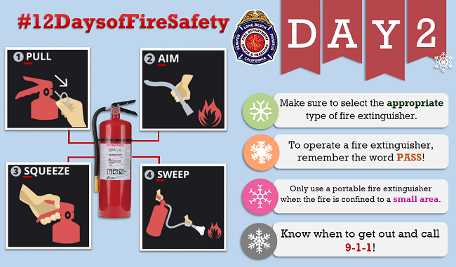 12 Days of Fire Safety - Day 2