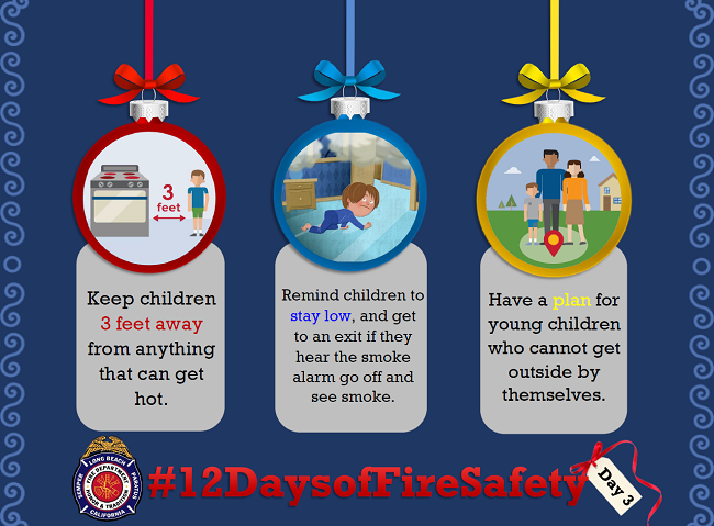 12 Days of Fire Safety - Day 3