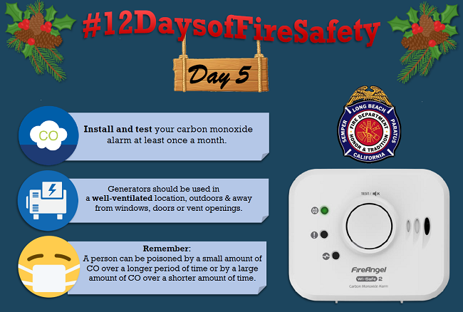 12 Days of Fire Safety - Day 5