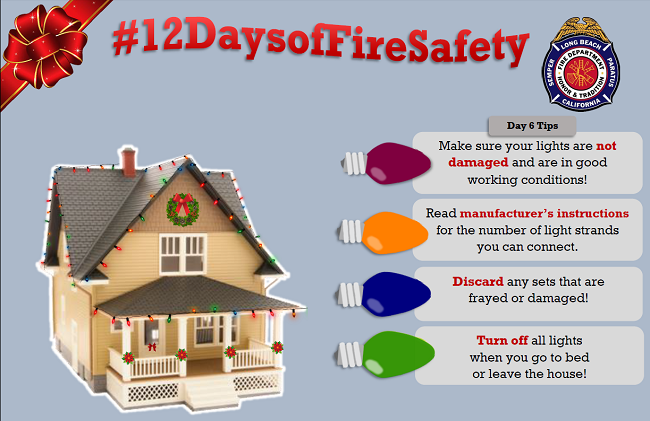 12 Days of Fire Safety - Day 6