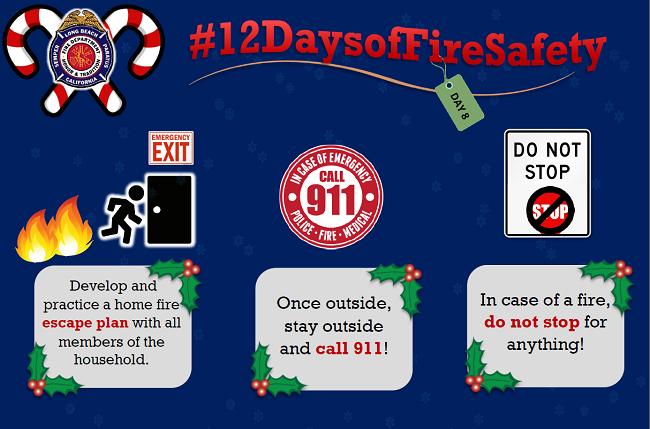 12 Days of Fire Safety - Day 8
