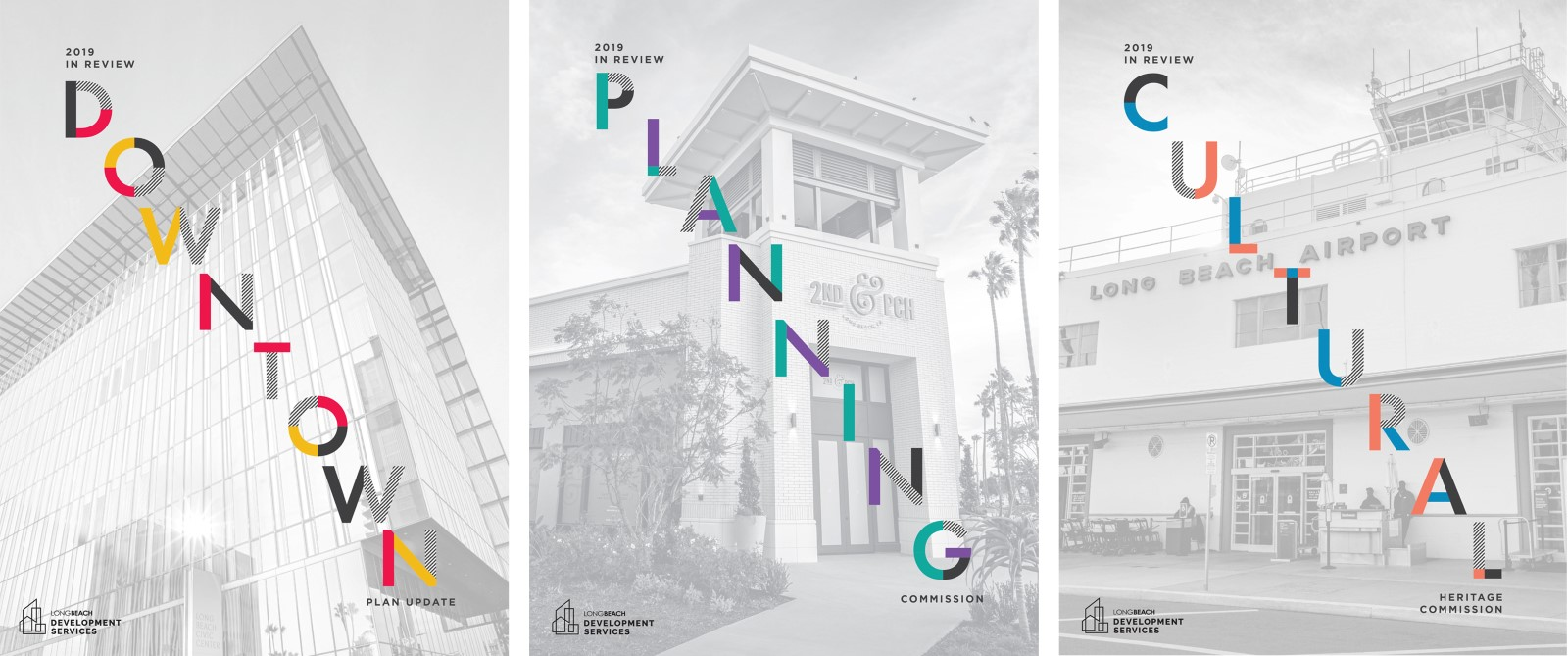 2019 Annual Reports 3 covers