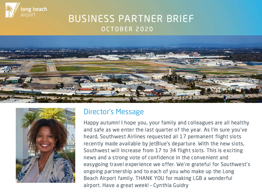 October 2020 Business Brief