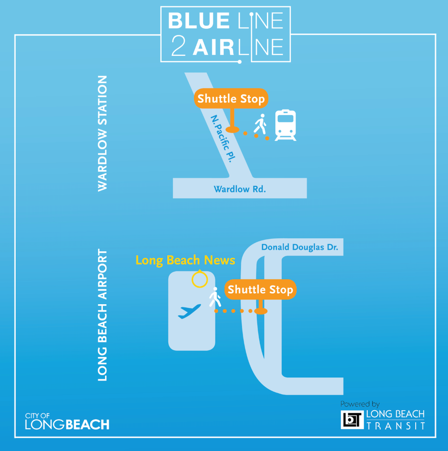 Blue Line to Airline