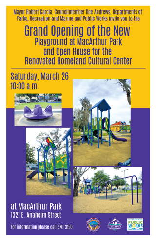 McArthur Park Grand Opening 2016